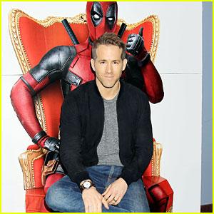 Ryan Reynolds Sits on Deadpool's Lap at NYC Fan Screening!