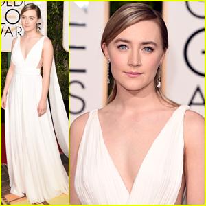 Saoirse Ronan Turns Heads At Golden Globes 2016