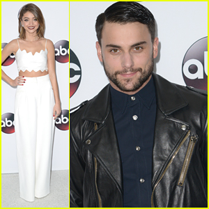 Sarah Hyland & Jack Falahee Step Out For Disney ABC's Winter TCA Tour Party