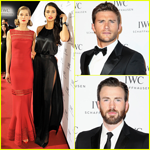 Scott Eastwood, Chris Evans & More Celebrate Pilot's Watches at IWC Gala Dinner!