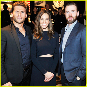 Scott Eastwood & Chris Evans Suit Up for IWC Pilot's Watches Novelties Launch!
