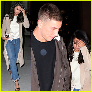 Selena Gomez Goes on Dinner Date with Samuel Krost!