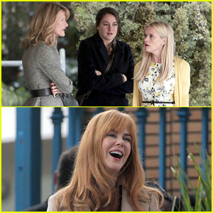 Reese Witherspoon & Nicole Kidman Begin Work on 'Big Little Lies' with Shailene Woodley!