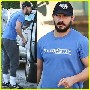 Shia LaBeouf Runs Errands After Reuniting with Girlfriend Mia Goth