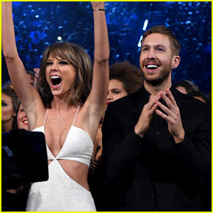 Taylor Swift Is at Calvin Harris' New Year's Eve Show in Vegas!