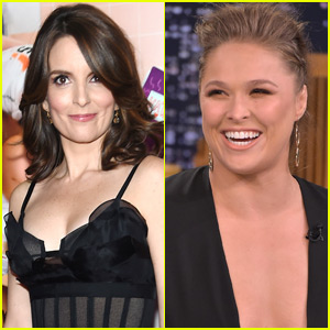 Tina Fey & Ronda Rousey Team Up for 'Do Nothing Bitches'