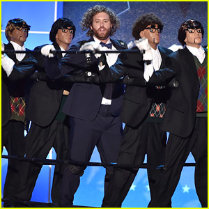 T.J. Miller Calls Out Ricky Gervais During Critics' Choice Awards 2016 Opening Monologue - Watch Now!