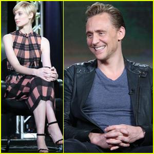Tom Hiddleston & Elizabeth Debicki Talk 'The Night Manager' at TCA Tour