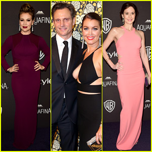 Scandal's Tony Goldwyn & Bellamy Young Meet Up After the Golden Globes 2016!