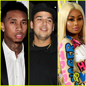 Tyga Comments on Ex Blac Chyna's Relationship with Rob Kardashian