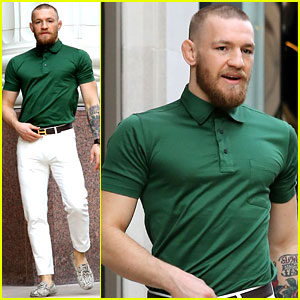 UFC's Conor McGregor Shows Off Fashion Cred on Rodeo Drive