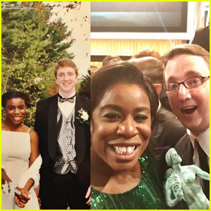 Uzo Aduba Brought Her Prom Date to SAG Awards 2016!