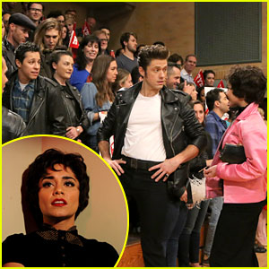 Vanessa Hudgens' Boyfriend Austin Butler Was in Audience for 'Grease: Live' Dress Rehearsal (Photo)