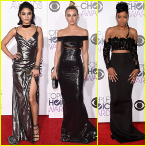Vanessa Hudgens, Julianne Hough, & 'Grease Live' Cast Attend People's Choice Awards 2016