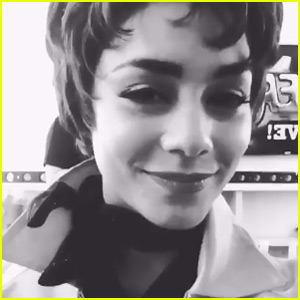 Vanessa Hudgens Posts Video Message for Fans Before 'Grease: Live' - Watch Now