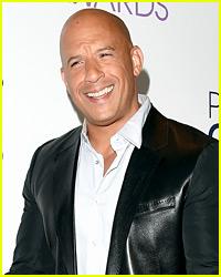 Vin Diesel's Shirtless Torso Shows No Sign of Dad-Bod!