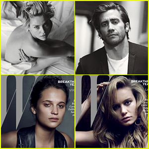 Charlize Theron, Jake Gyllenhaal & More Represent W Mag's Best Performances Issue!