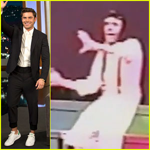 Watch Zac Efron Play Snoopy in His High School Musical!