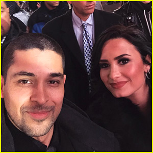 Wilmer Valderrama Supports Demi Lovato on New Year's Eve!