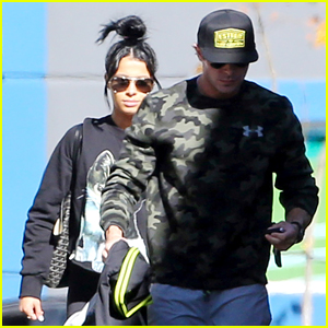 Zac Efron & His Girlfriend Sami Miro Get Sweaty At the Gym For the Second Time This Week
