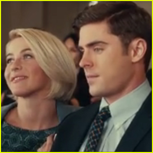 Julianne Hough Makes Zac Efron Choose Coral Or Salmon In New 'Dirty Grandpa' Clip - Watch Now!