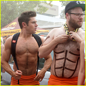 Zac Efron Shows Off His Abs in New 'Neighbors 2' Photos!