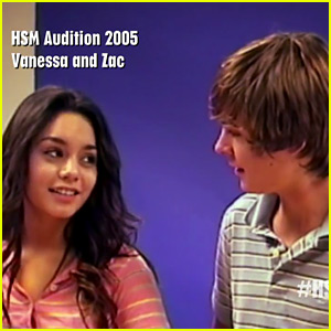 Zac Efron & Vanessa Hudgens' Original 'High School Musical' Audition Tape Revealed - Watch Now!