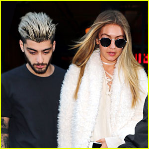 Zayn Malik & Gigi Hadid Hold Hands Following His Grandmother's Death
