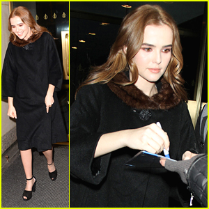 Zoey Deutch Recalls Robert De Niro Saving Her Life on 'Today'