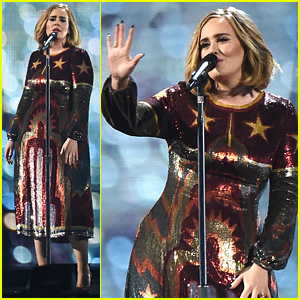 Adele's BRIT Awards 2016 Performance Video - WATCH NOW!