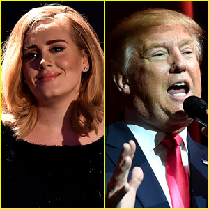 Adele Did Not Give Donald Trump Permission to Use Her Music