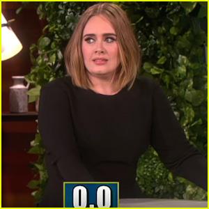 Adele Plays '5 Second Rule' with Ellen DeGeneres - Watch Now!