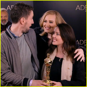 Adele Photobombs Fans for 'Live in London' Special! (Video)