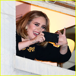 Adele Pops Out of Her Wiltern Window: 'I Feel Like Justin Bieber'