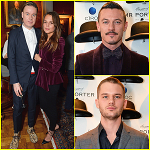 Alicia Vikander, Luke Evans & Jeremy Irvine Celebrate Mr Porter's Fifth Birthday!