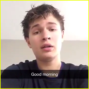 Ansel Elgort Shows Off His Amazing Singing Voice - Watch Now!