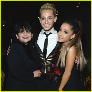 Ariana Grande Hangs With Brother Frankie After Grammys 2016