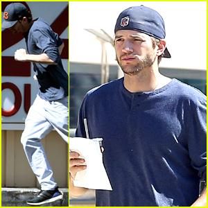 Ashton Kutcher Makes His Own Version of 'Damn Daniel!'