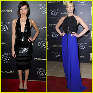 Aubrey Plaza & Jaime Pressly Celebrate with Art Directors Guild!