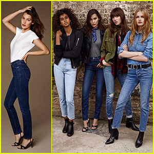Bella Hadid Returns For Topshop's Spring/Summer 2016 Denim Campaign