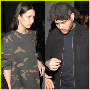 Bella Hadid & The Weeknd Step Out for Dinner Date