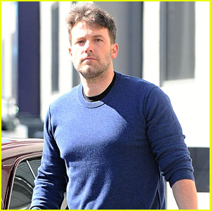 Ben Affleck Goes Back to Work After His Family Vacation