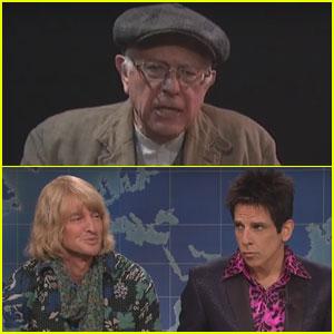 Bernie Sanders & the 'Zoolander' Guys Stop by 'Saturday Night Live' - Watch the Skits Here!