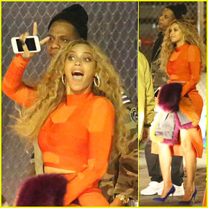 Beyonce Celebrates Epic 2016 Super Bowl Halftime Show with Jay-Z & Mother Tina!