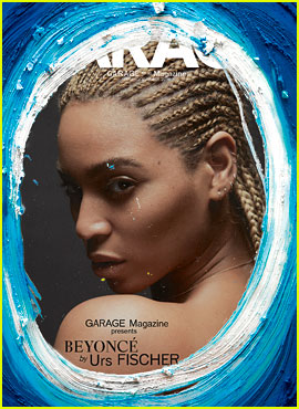 Beyonce Covers 'Garage' Magazine with Some Paint Added On!