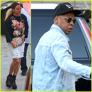 Beyonce & Jay Z Attend Kids' Birthday Party With Kelly Rowland