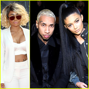 Blac Chyna Seemingly Calls Out Kylie Jenner, Tyga Jumps In to Defend His Girlfriend