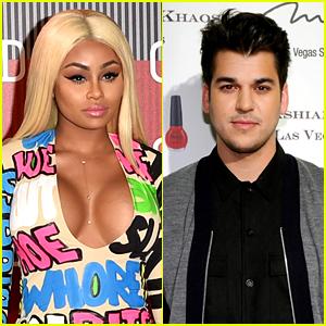 Blac Chyna Flaunts Her Assets in Boyfriend Rob Kardashian's Sock Line
