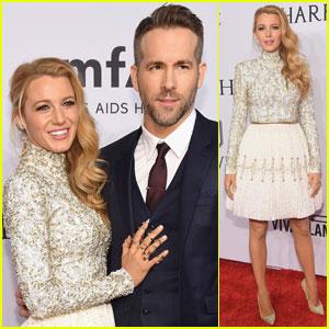 Blake Lively & Ryan Reynolds Couple Up for amfAR Gala 2016