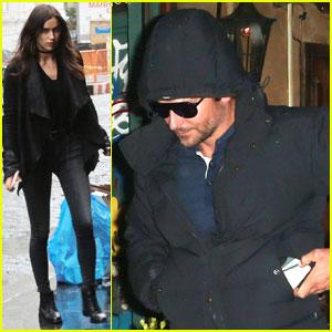 Bradley Cooper Grabs Dinner With Irina Shayk & Jonah Hill